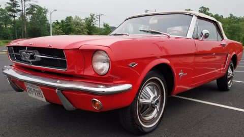serviced 1965 Ford Mustang Covertible for sale