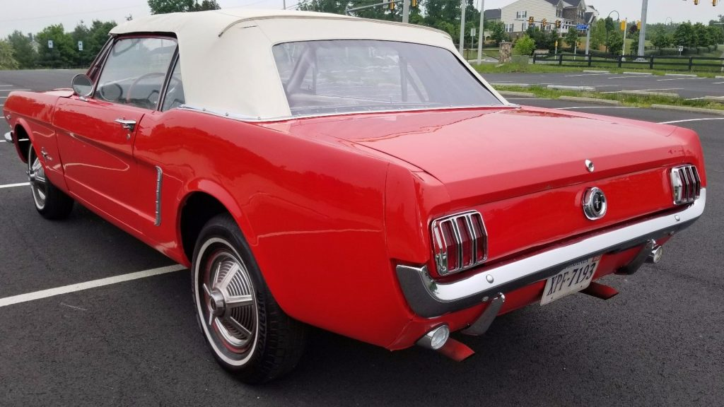 serviced 1965 Ford Mustang Covertible