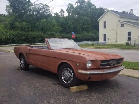 solid 1965 Ford Mustang Convertible for sale