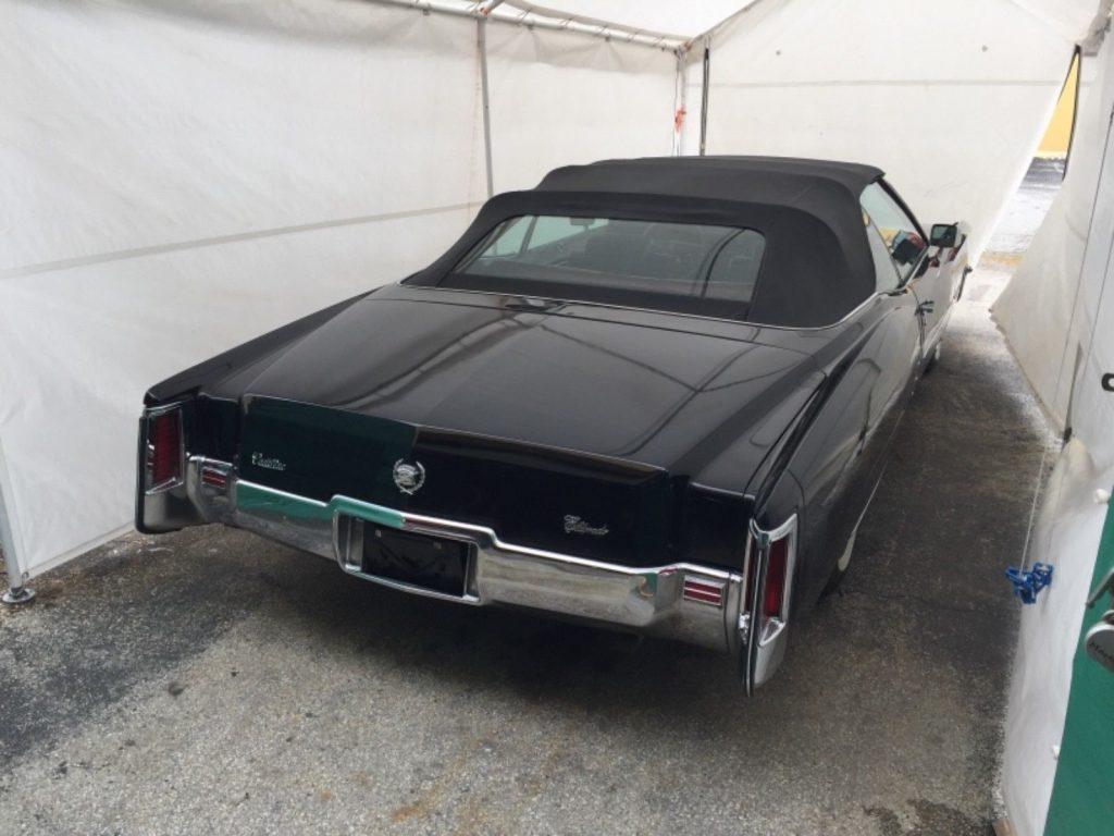 very nice 1972 Cadillac Eldorado Convertible