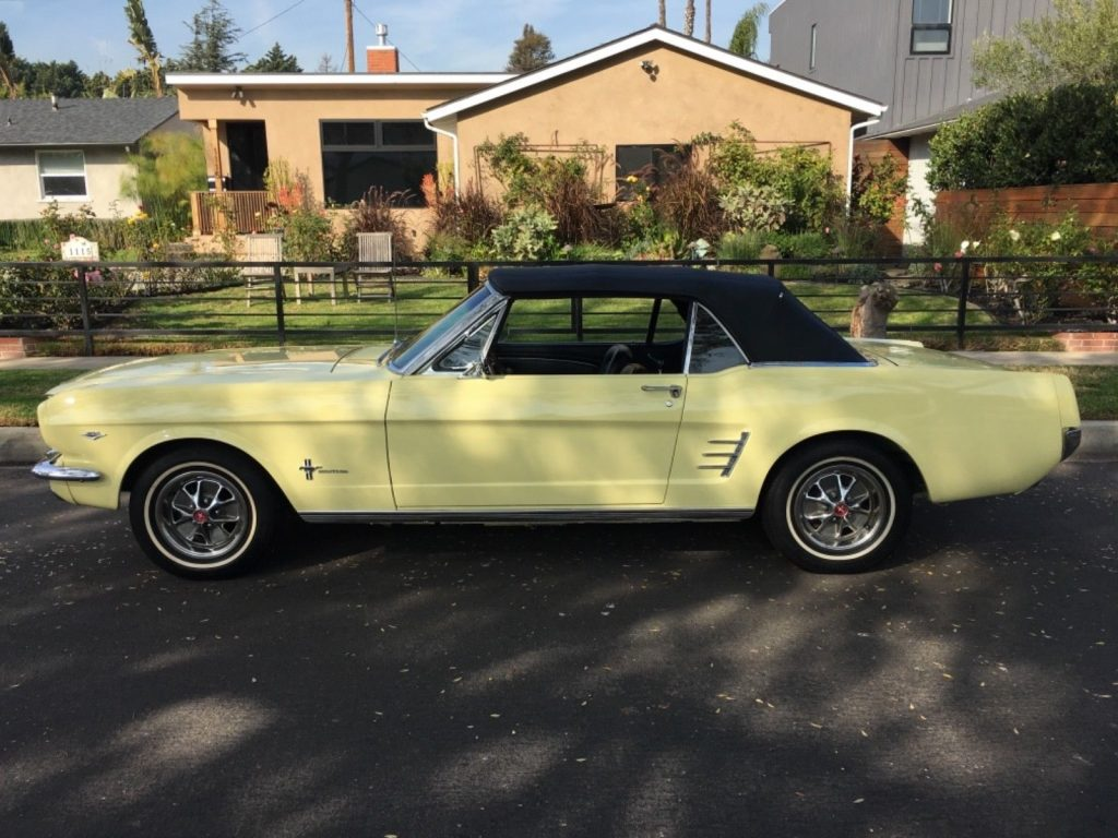 gorgeous 1966 Ford Mustang Convertible