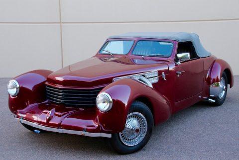 hot rod 1937 Cord Replica convertible for sale