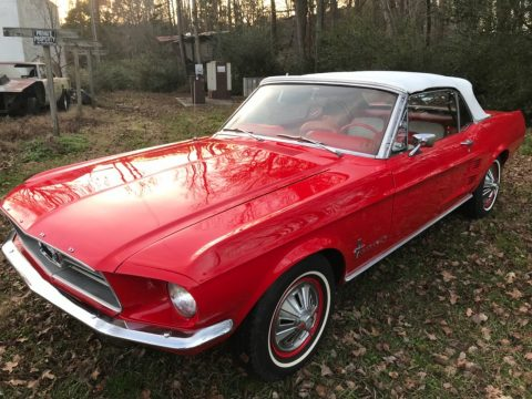 low miles 1967 Ford Mustang Convertible for sale