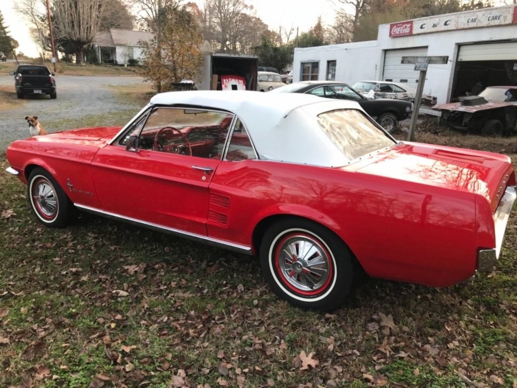 low miles 1967 Ford Mustang Convertible
