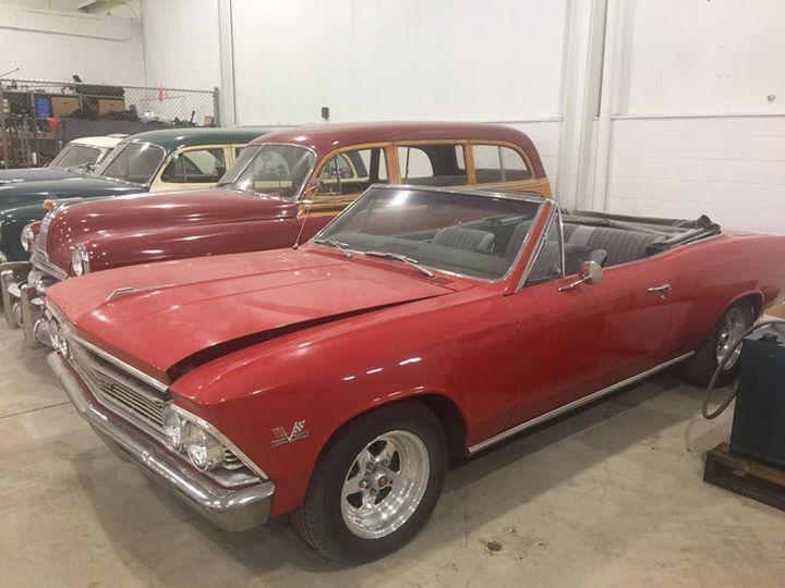 needs finishing 1966 Chevrolet Chevelle convertible