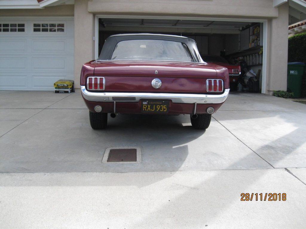 new parts 1966 Ford Mustang Convertible