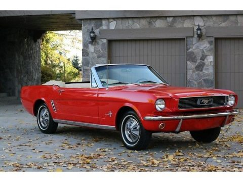perfect shape 1966 Ford Mustang Convertible for sale
