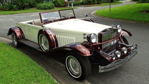 rare 1933 Duesenberg Model J Replica convertible for sale