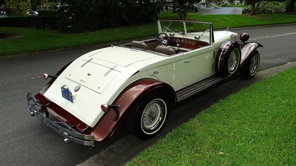 rare 1933 Duesenberg Model J Replica convertible