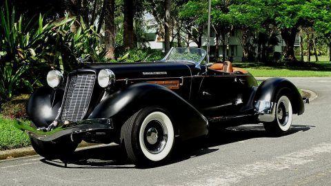 rare 1935 Auburn Replica convertible for sale