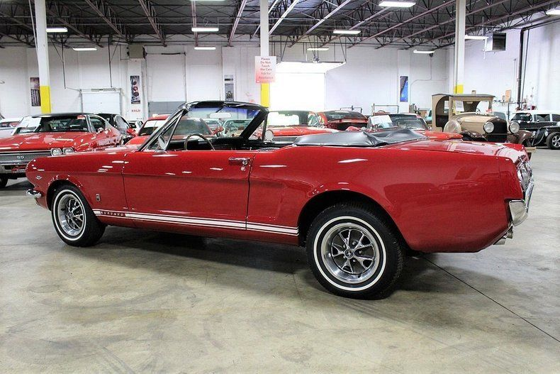 sharp 1966 Ford Mustang GT Convertible