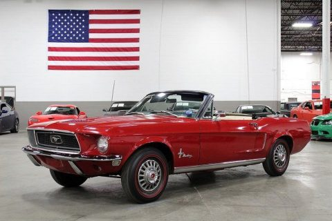all original 1968 Ford Mustang convertible for sale