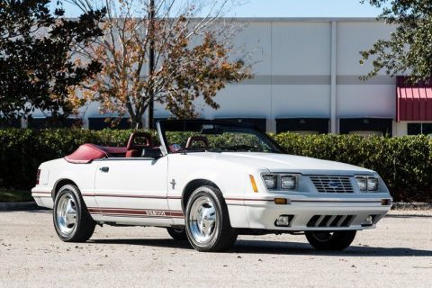 Anniversary 1984 Ford Mustang Gt350 Convertible for sale