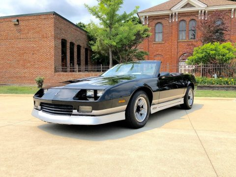awesome 1987 Chevrolet Camaro Convertible for sale