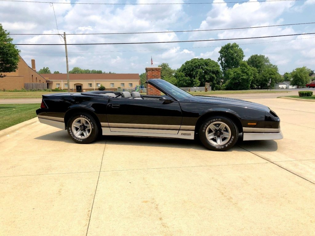 awesome 1987 Chevrolet Camaro Convertible