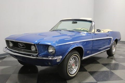 big block 1968 Ford Mustang GT Convertible for sale