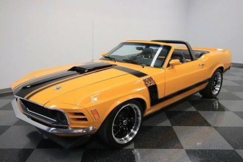 Boss 302 Tribute 1970 Ford Mustang Convertible for sale