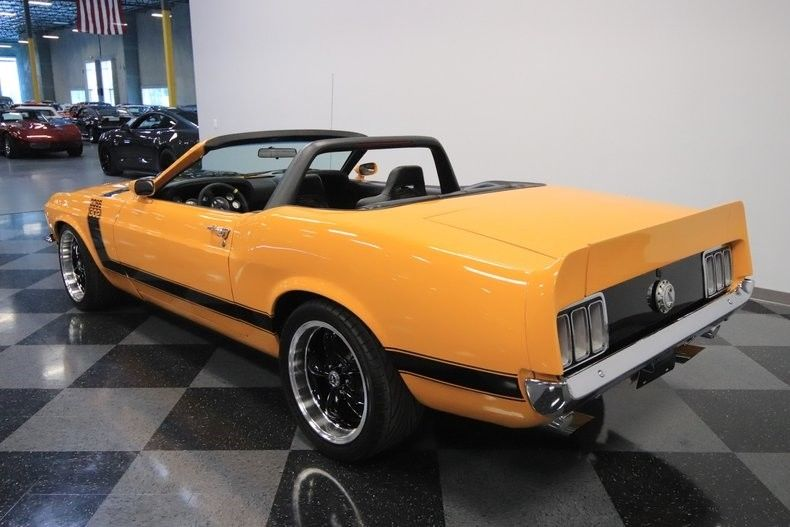 Boss 302 Tribute 1970 Ford Mustang Convertible