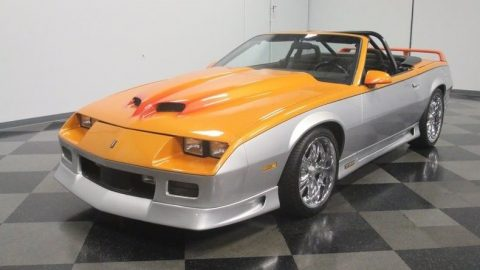 custom 1987 Chevrolet Camaro convertible for sale
