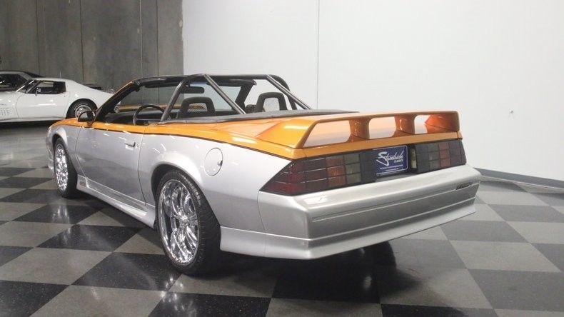 custom 1987 Chevrolet Camaro convertible