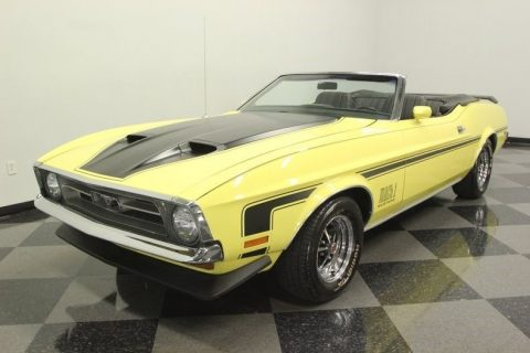 factory color 1971 Ford Mustang Convertible for sale