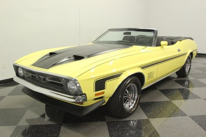 factory color 1971 Ford Mustang Convertible
