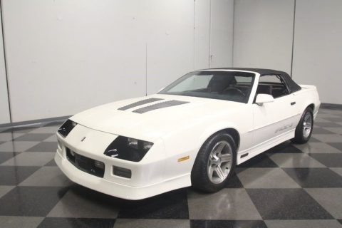 fantastic shape 1990 Chevrolet Camaro IROC Z/28 Convertible for sale