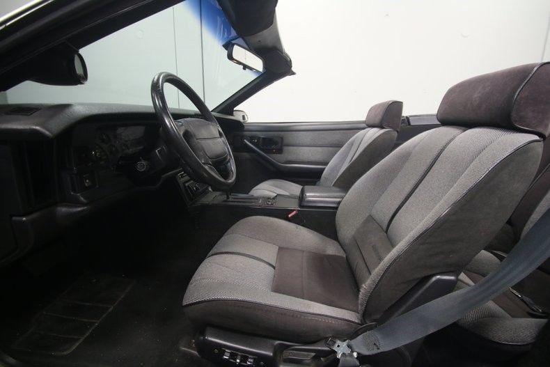 fantastic shape 1990 Chevrolet Camaro IROC Z/28 Convertible
