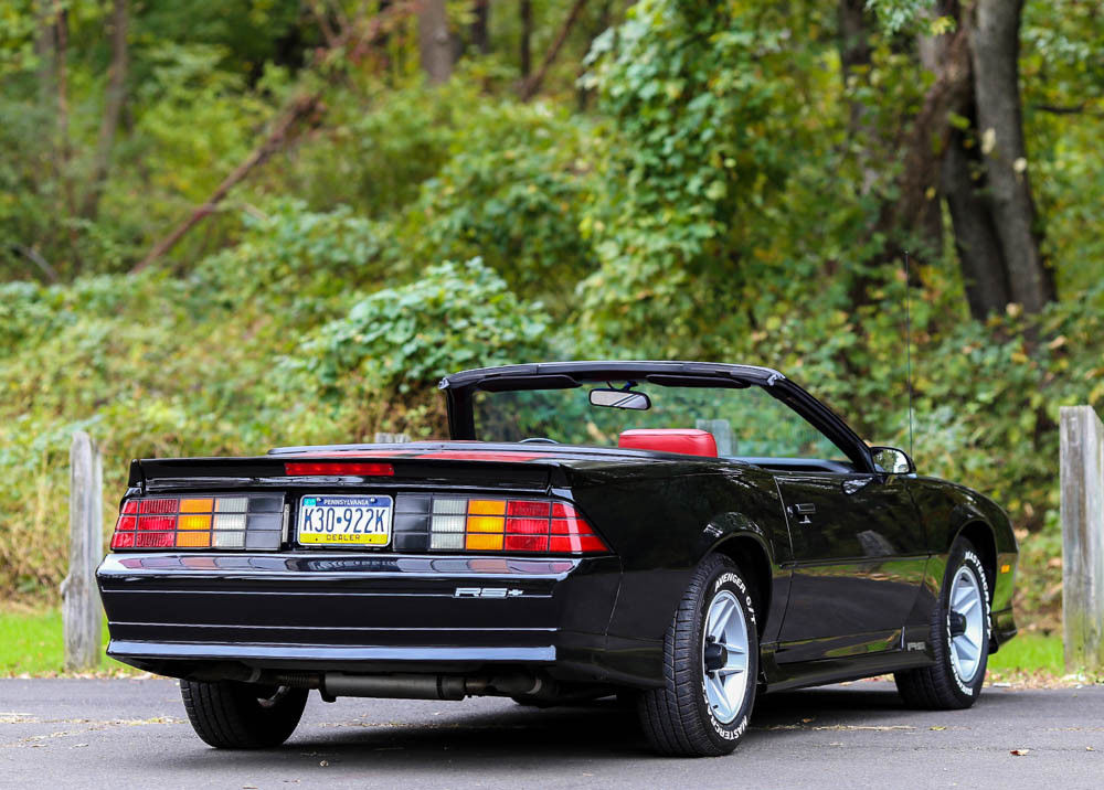 low miles 1991 Chevrolet Camaro Convertible
