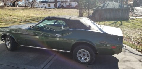 needs finishing 1973 Ford Mustang Convertible for sale