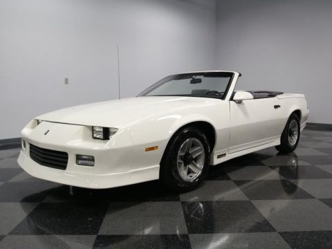 newly built engine 1989 Chevrolet Camaro RS Convertible for sale