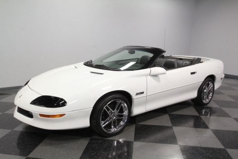rare transmission 1995 Chevrolet Camaro Z/28 Convertible for sale