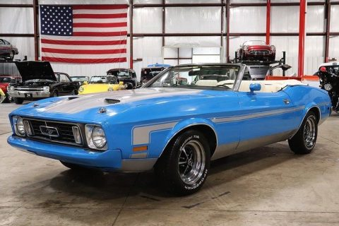 recently restored 1973 Ford Mustang Convertible for sale