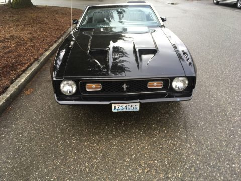 renewed 1972 Ford Mustang Convertible for sale