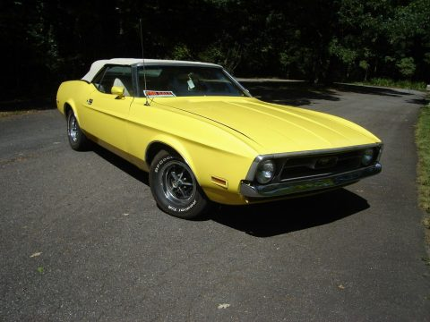 restored 1971 Ford Mustang Convertible for sale