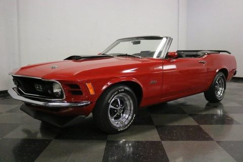 sharp 1970 Ford Mustang Convertible for sale