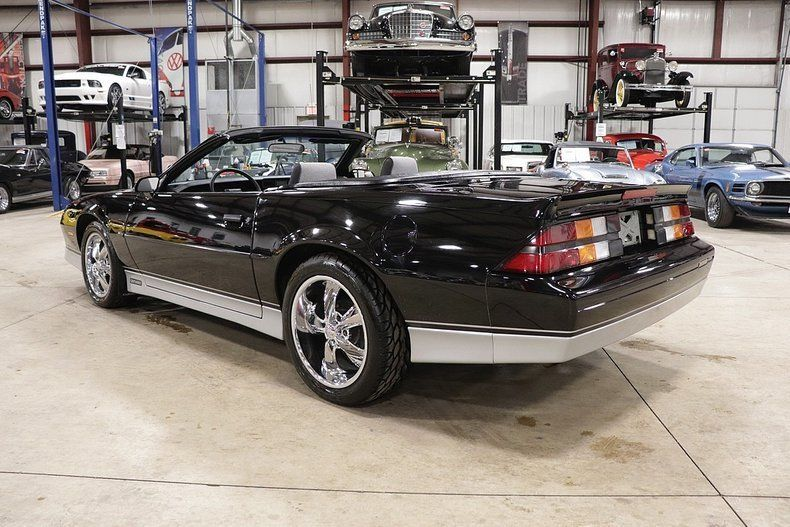 sharp 1988 Chevrolet Camaro Convertible