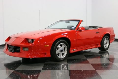 strong running 1991 Chevrolet Camaro RS Convertible for sale