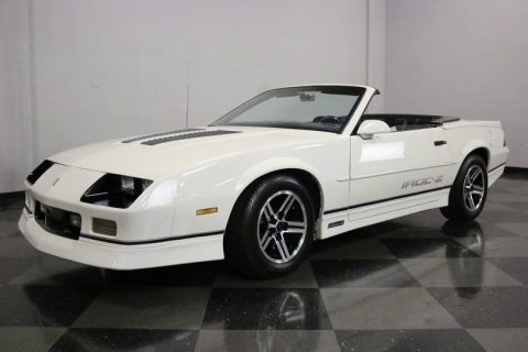 very clean 1990 Chevrolet Camaro IROC Z/28 Convertible for sale