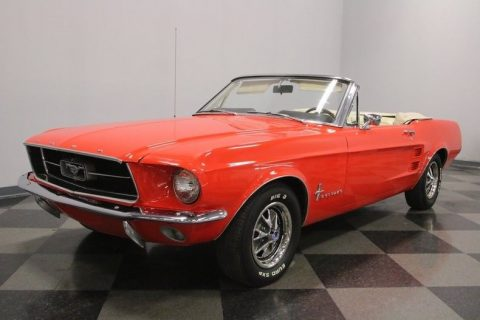 very nice 1967 Ford Mustang Convertible for sale