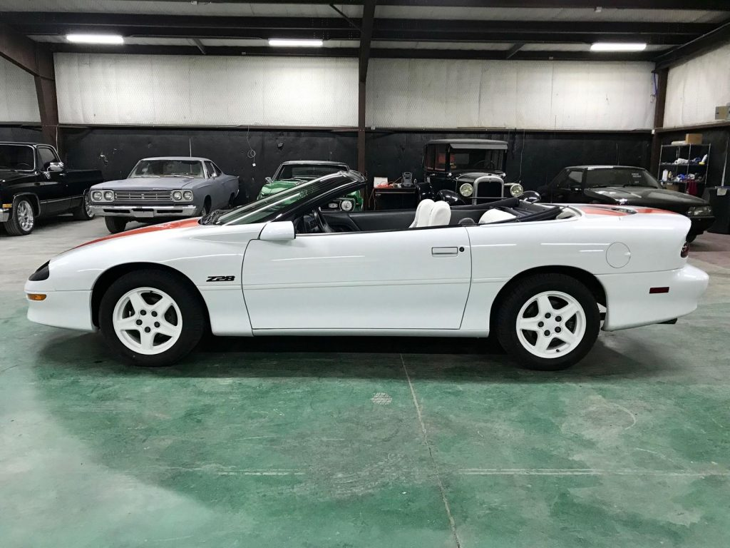 well equipped 1997 Chevrolet Camaro Z28 30th Anniversary Convertible