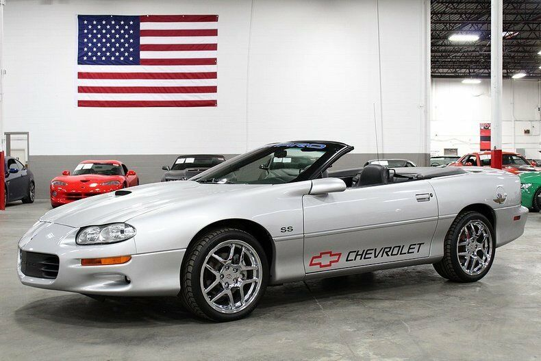 beautiful beast 2002 Chevrolet Camaro Z28 SS Convertible