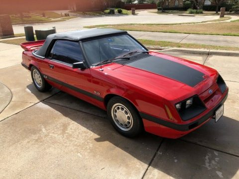 Excellent shape 1986 Ford Mustang GT Convertible for sale