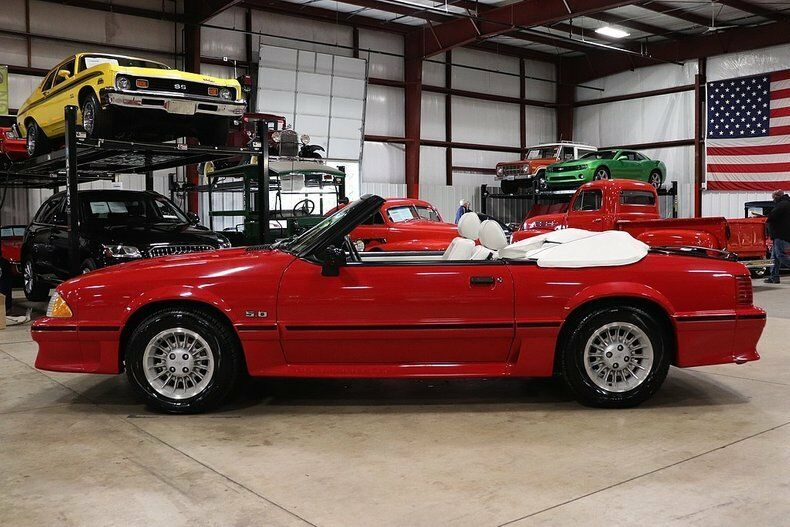 low mileage 1989 Ford Mustang GT Convertible