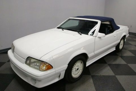low miles 1987 Ford Mustang ASC McLaren convertible for sale