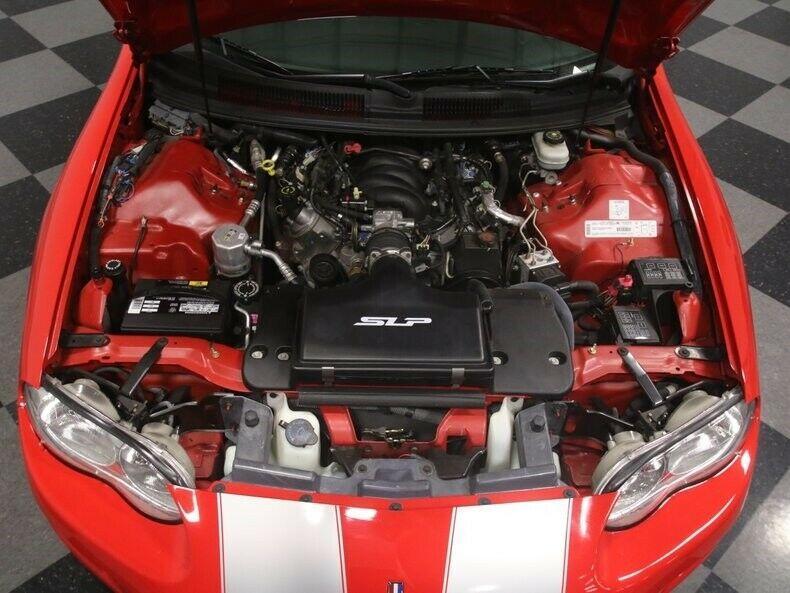 low miles 2002 Chevrolet Camaro SS 35TH Anniversary SLP Edition Convertible
