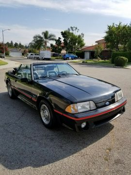 Low Millage Super Clean 1989 Ford Mustang GT Convertible for sale