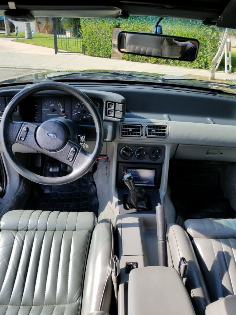 Low Millage Super Clean 1989 Ford Mustang GT Convertible