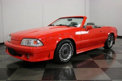 Recently Serviced 1988 Ford Mustang ASC McLaren convertible for sale