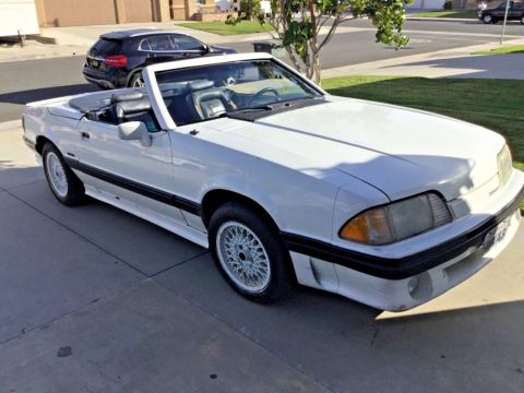 solid 1988 Ford Mustang ASC Mclaren Convertible for sale